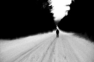 samoća zima